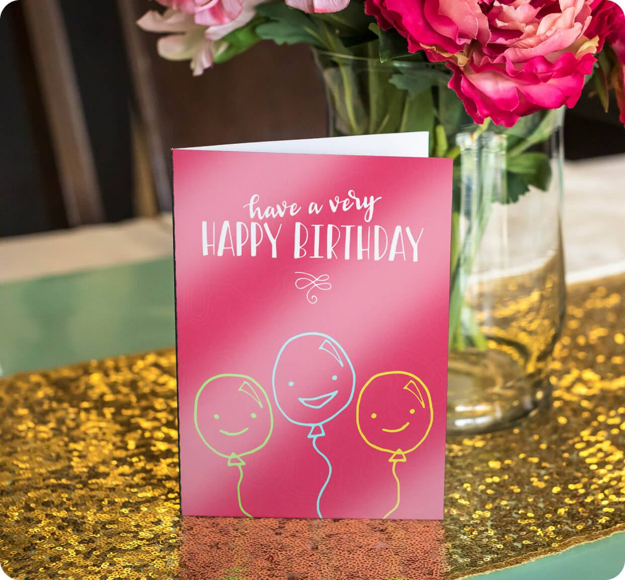 High Gloss Greeting Cards 14pt Stock + UV Coating