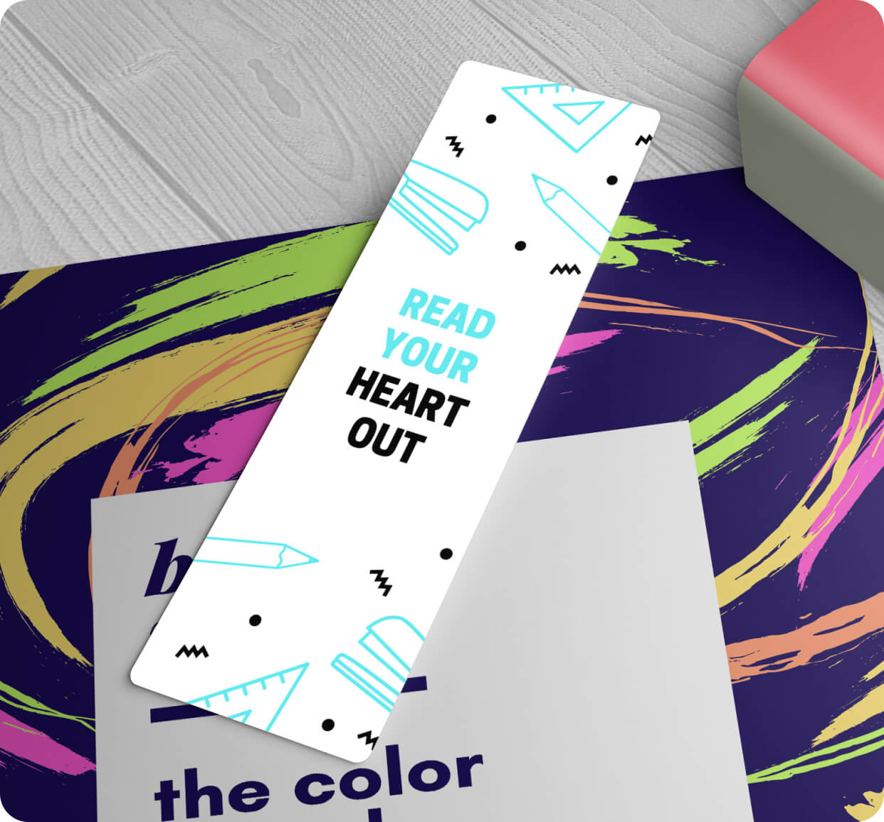 Standard Bookmarks 14pt Stock + Matte Finish