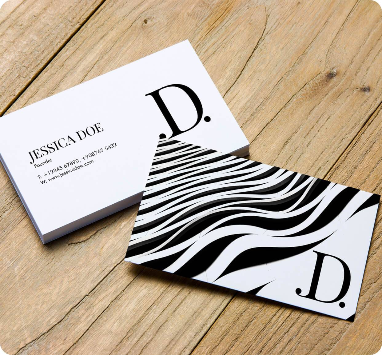 Standard Business Cards 14pt Stock + Matte Finish