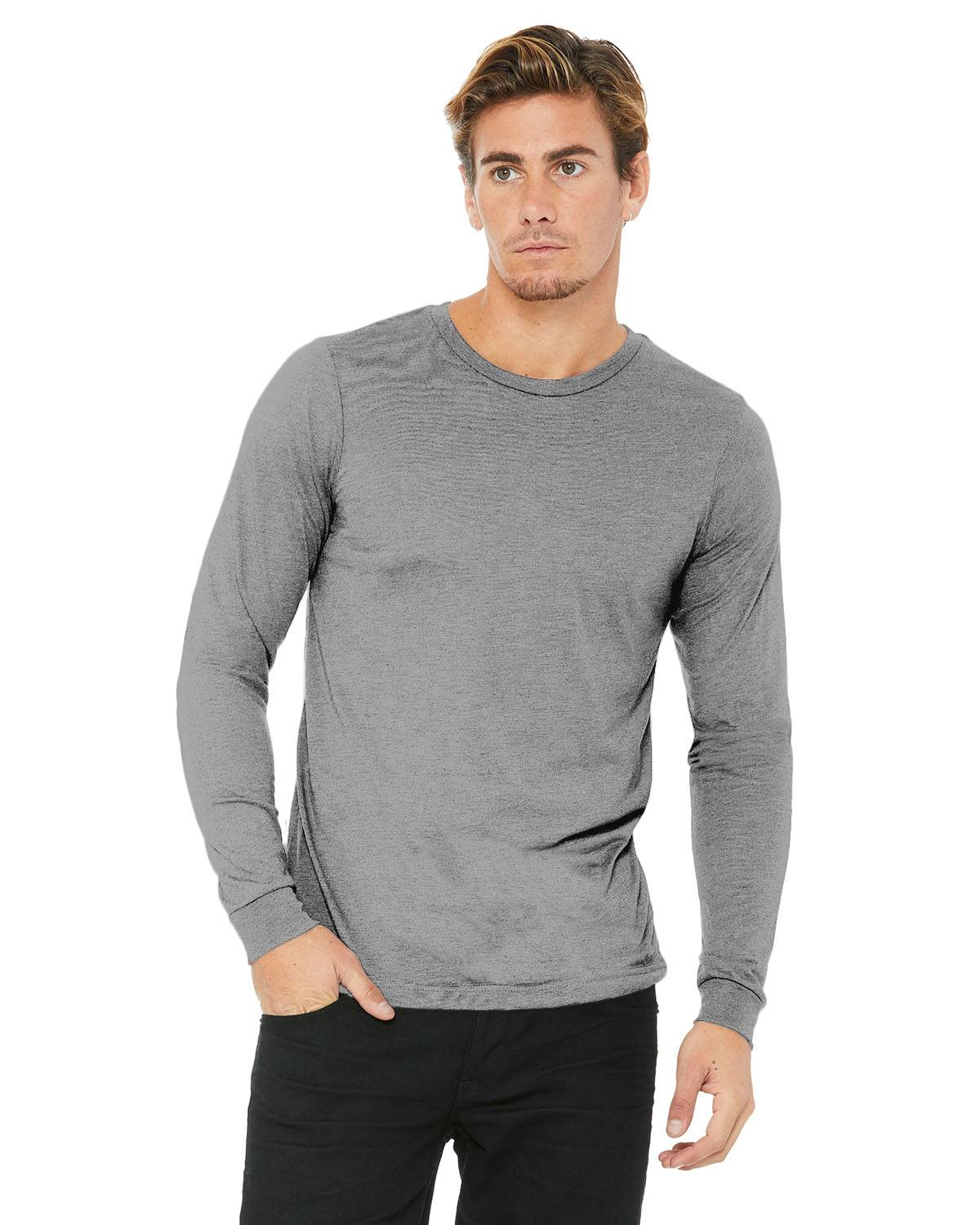 Bella + Canvas Unisex Jersey Long-Sleeve T-Shirt | 3501