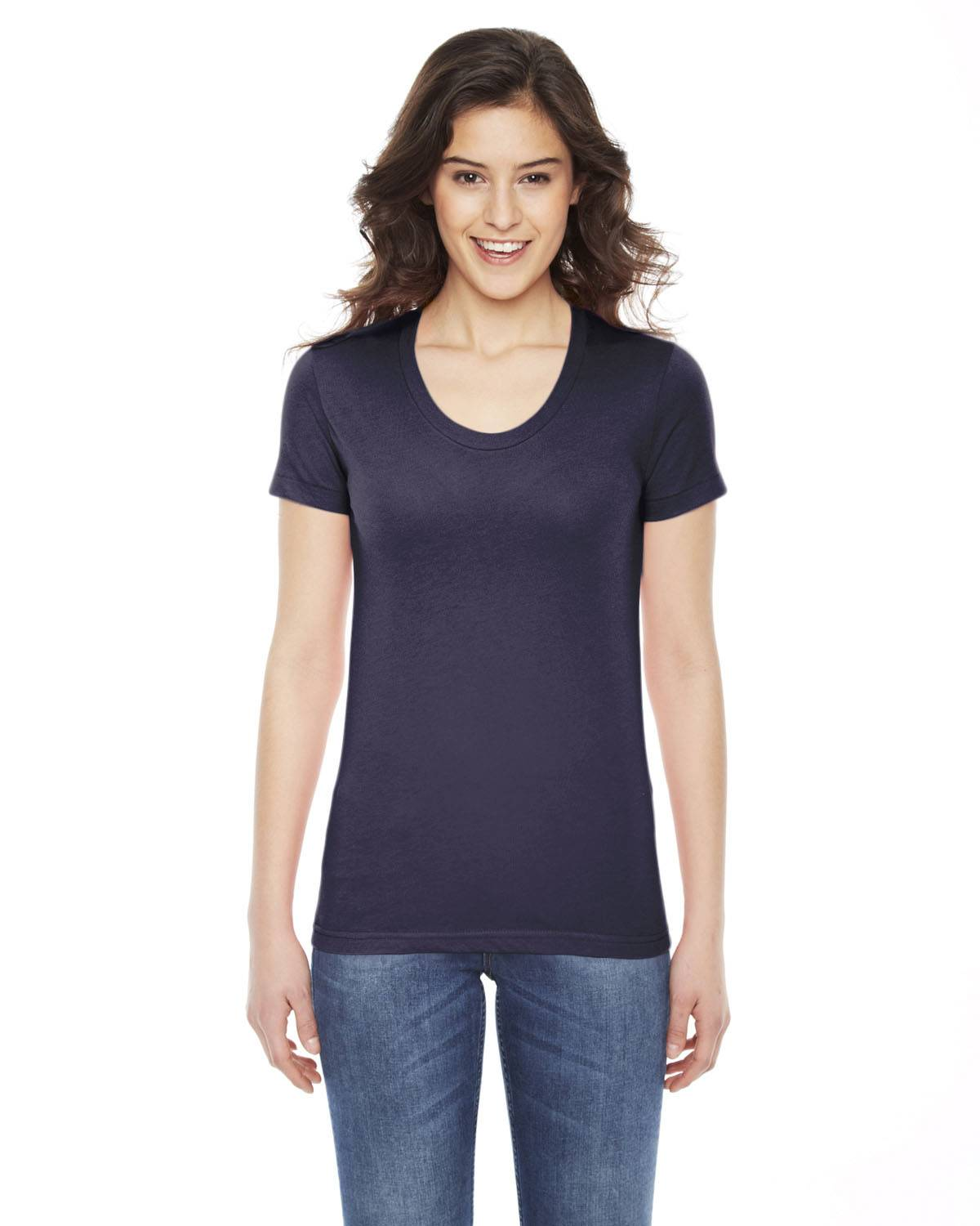 American Apparel Ladies' Poly-Cotton Short-Sleeve Crewneck | BB301W