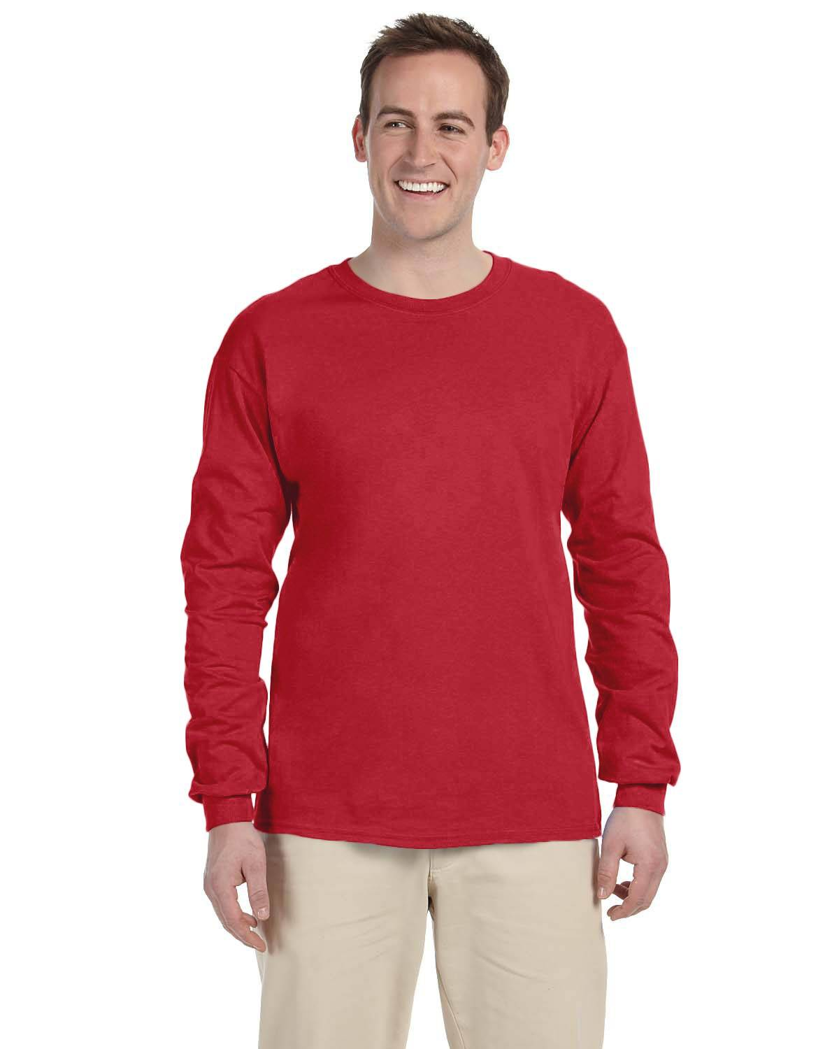 Gildan Adult Ultra Cotton 10 oz./lin. yd. Long-Sleeve T-Shirt | G240