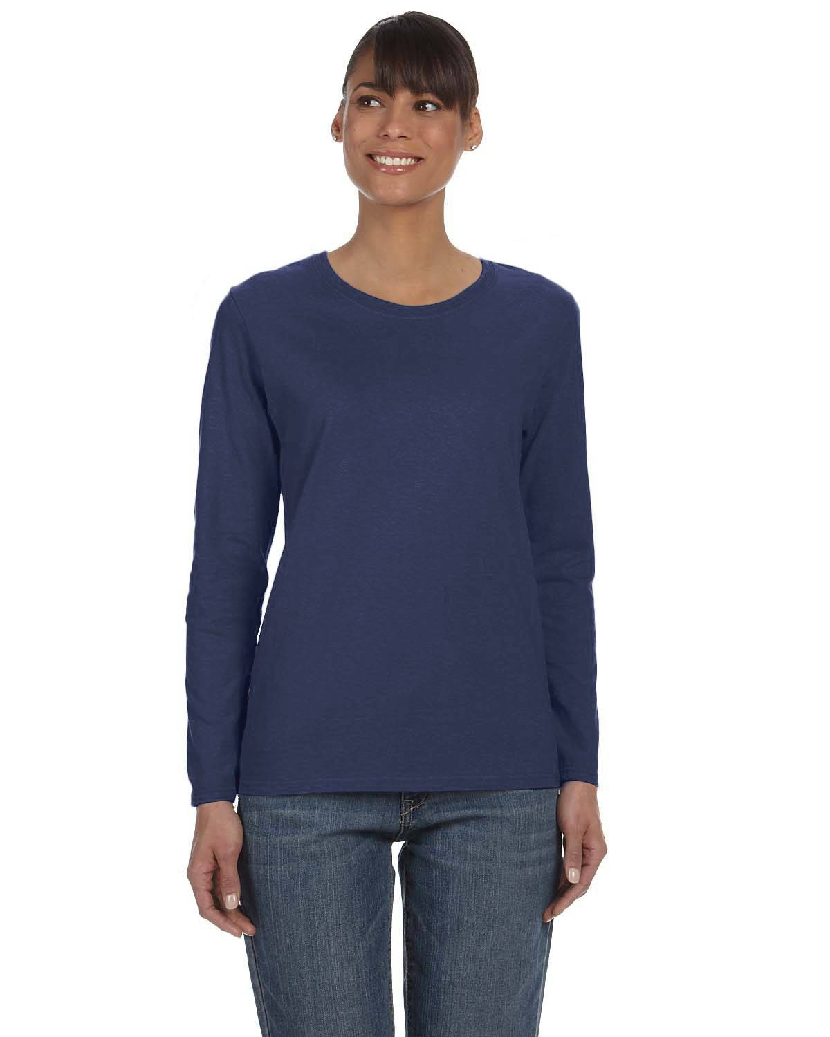 Gildan Ladies' Heavy Cotton 8.8 oz./lin. yd. Long-Sleeve T-Shirt | G540L