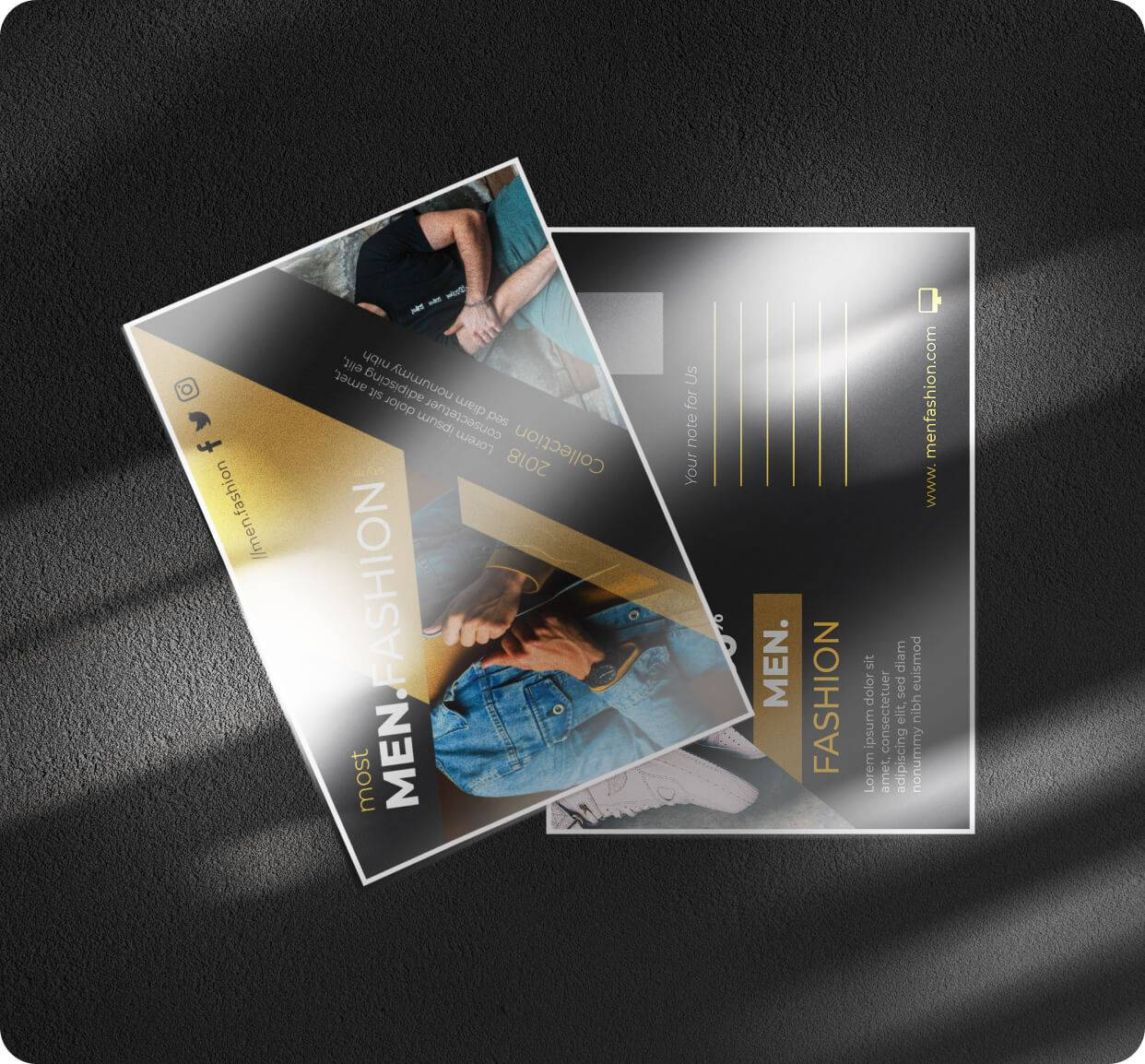 High Gloss Postcards 14pt Stock + UV Coating